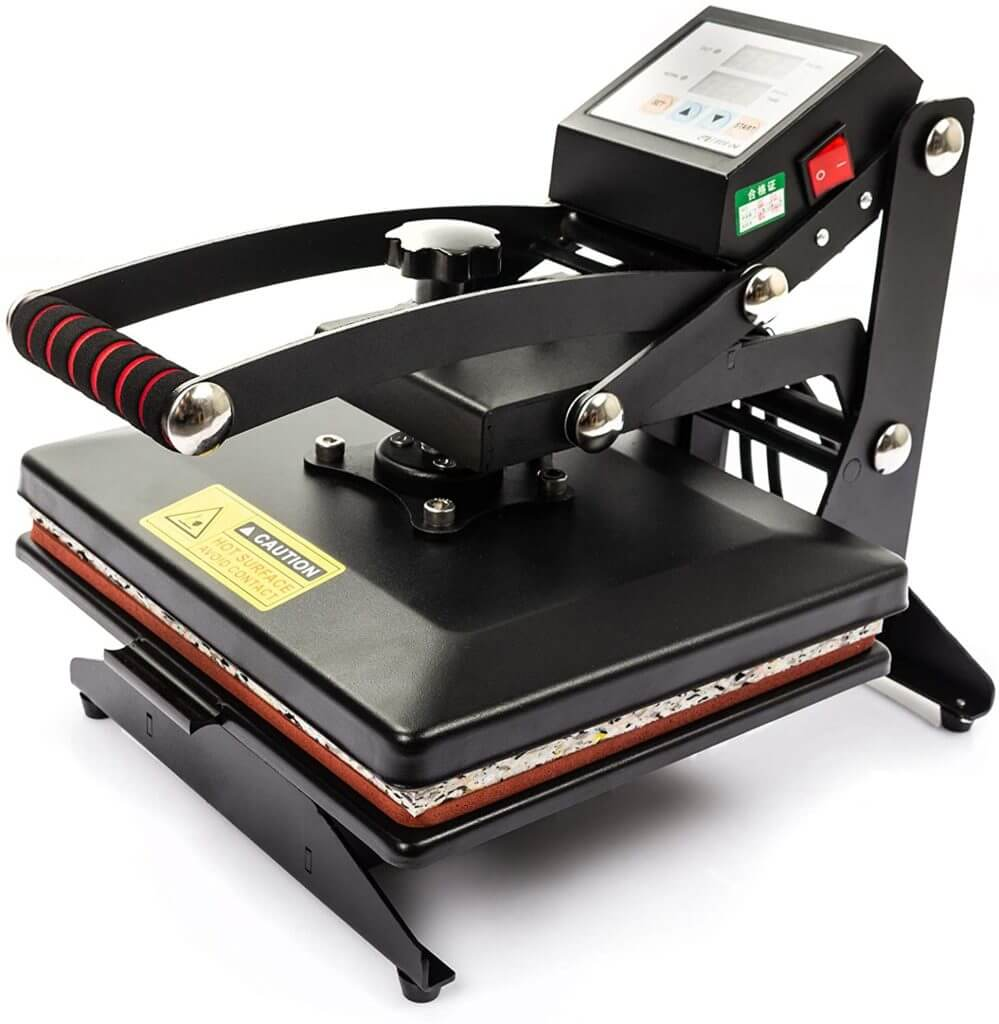 heat press features