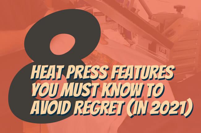heat press features