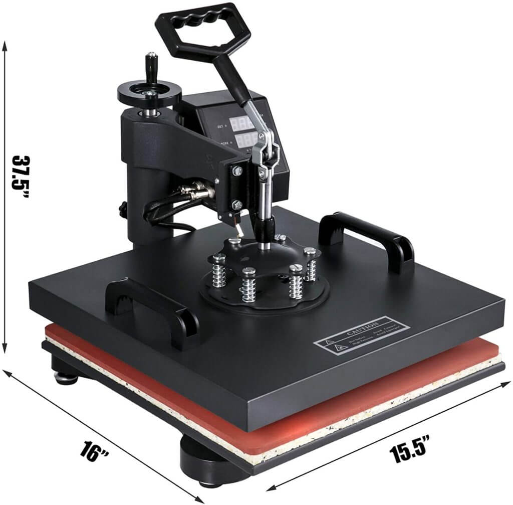 heat press features multi function