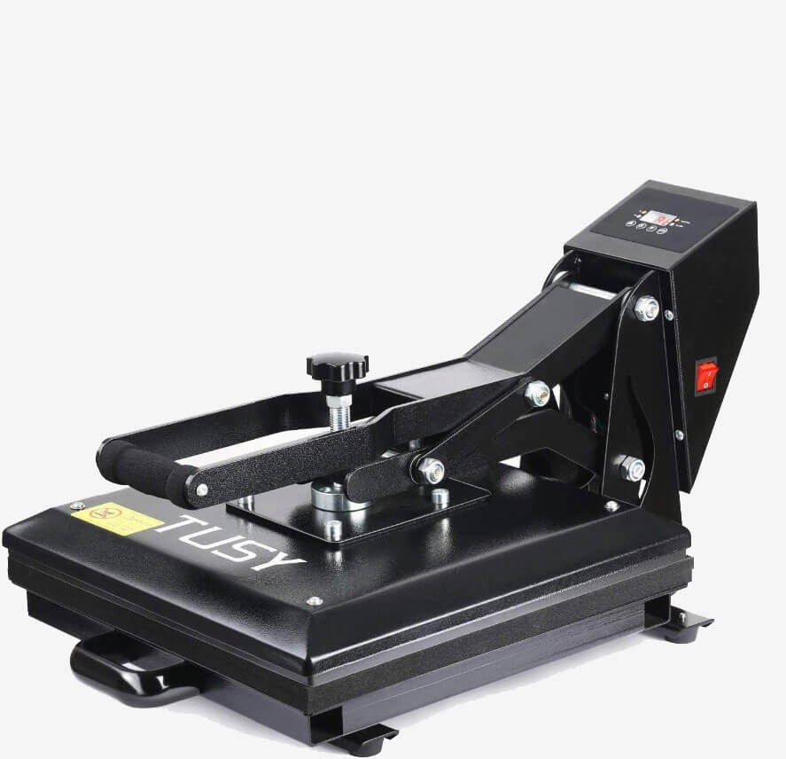 heat press features - over the counter pressure