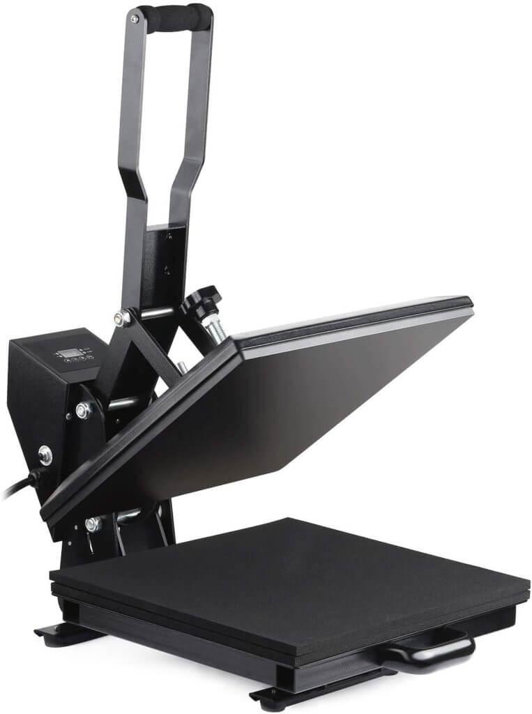 heat press features - digital pressure reading