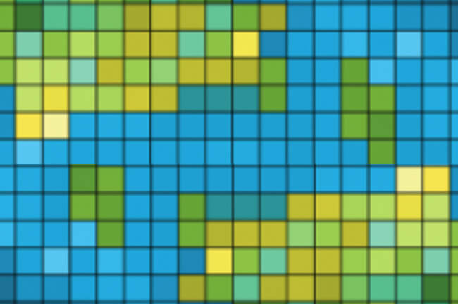 vectors over bitmap