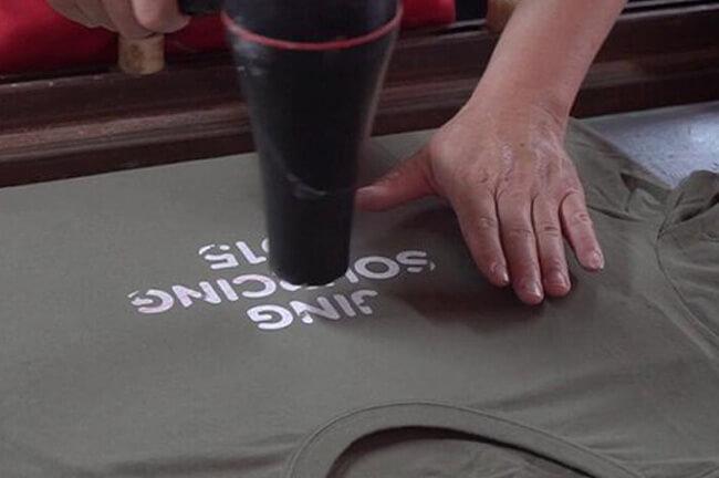 water-based or plastisol inks