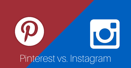 how to grow your screen printing business - Pinterest vs instagram