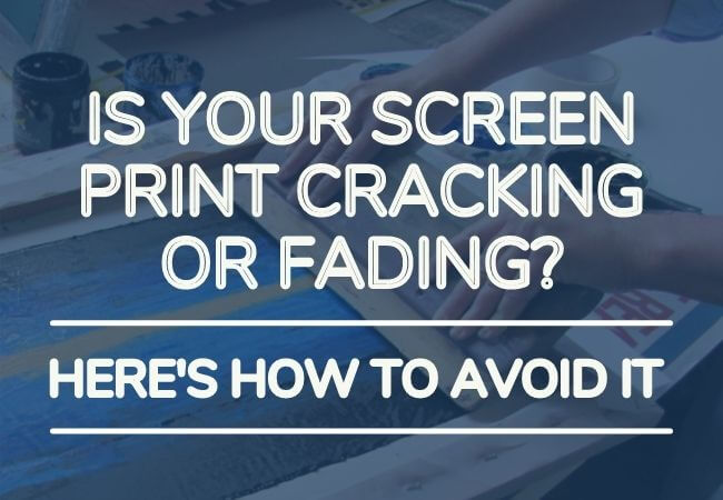 is your screen print cracking main